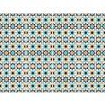queence tegelsticker mozaïek motief blauw