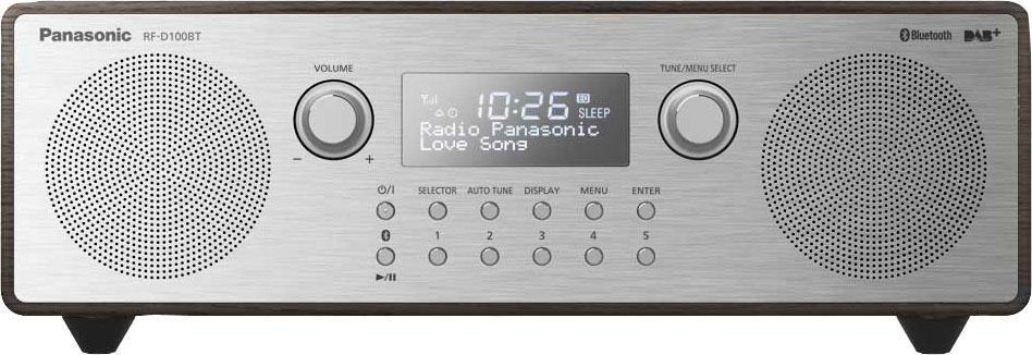 Panasonic »RF-D100BTEGT« radio (bluetooth, digitale radio (DAB+), FM-tuner met RDS, 10 W) - verschillende betaalmethodes