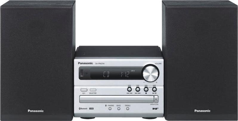 Panasonic »SC-PM254EG« micro-hifi-set (bluetooth, digitale radio (DAB+),FM-tuner met RDS, 20 W) - verschillende betaalmethodes