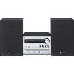 panasonic »sc-pm254eg« micro-hifi-set (bluetooth, digitale radio (dab+),fm-tuner met rds, 20 w)