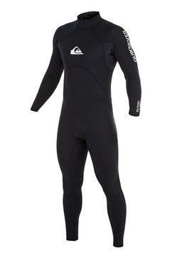 quiksilver wetsuit met achterrits »3-2mm rental series« zwart
