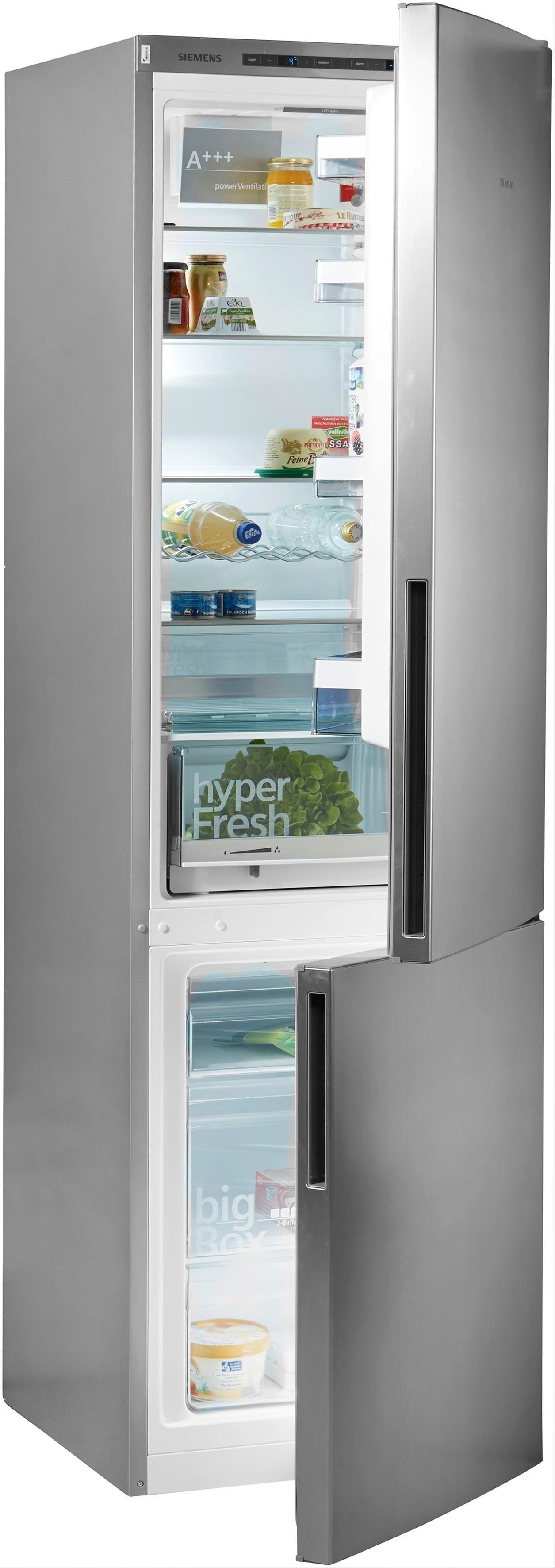 Siemens koel-vriescombinatie iQ300, 201 cm hoog, 60 cm breed online kopen op otto.nl