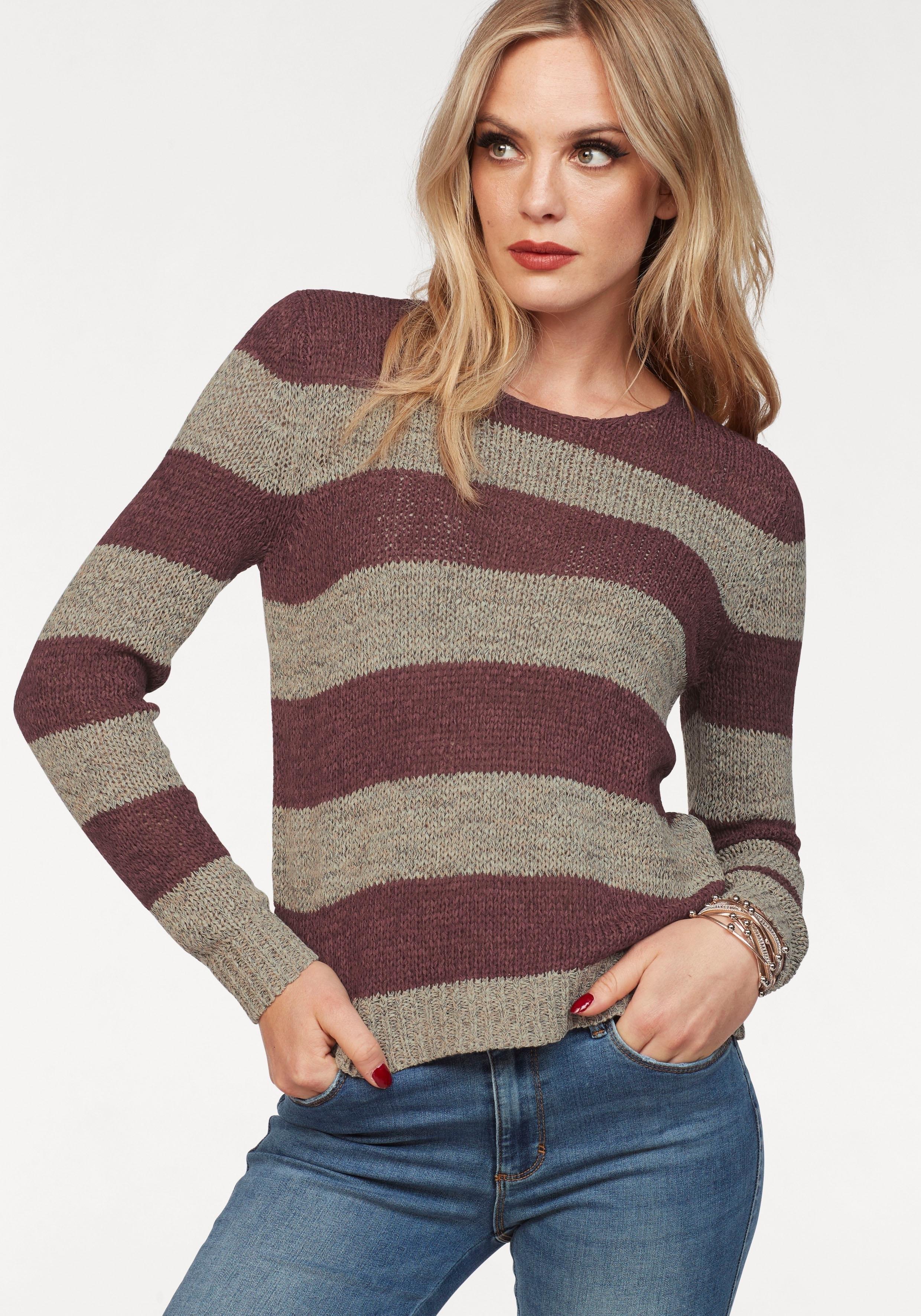ONLY trui met ronde hals »GABBI« bij OTTO online kopen