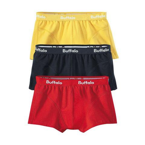 Boxer, BUFFALO, katoen-stretchkwaliteit, set van 3