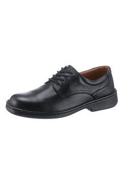 softwalk veterschoenen zwart