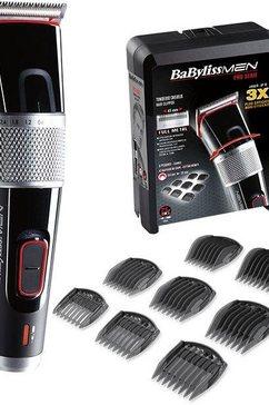 babyliss tondeuse e980e – profi-clipper werkt op netstroom en accu, opzetstukken: 8 stuks zwart