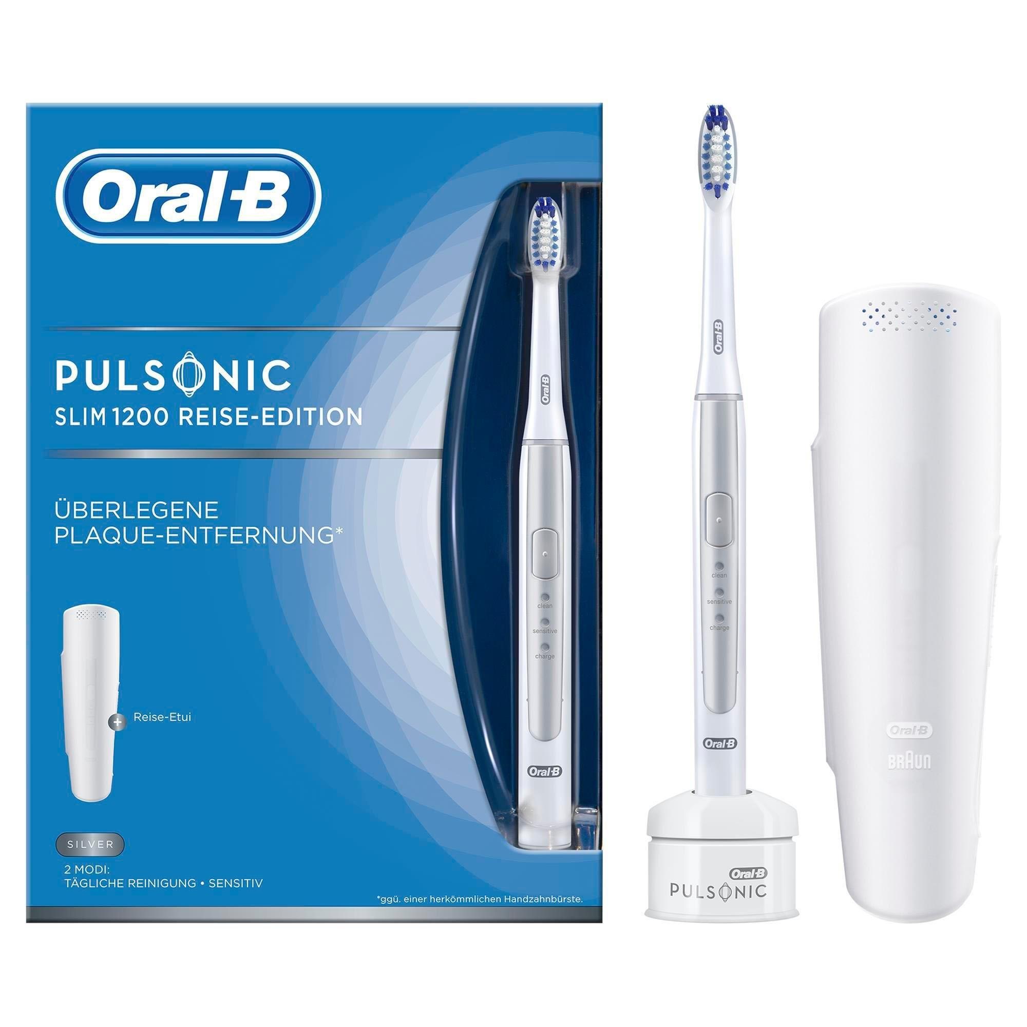 Oral-B Oral B ultrasone tandenborstel Pulsonic Slim 1200, 1 opzetborsteltje - verschillende betaalmethodes