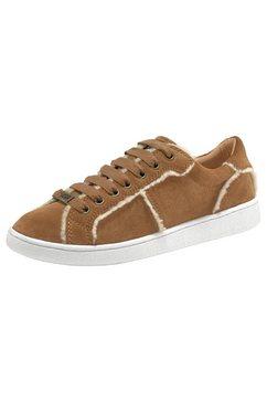 ugg sneakers »milo spill seam« bruin