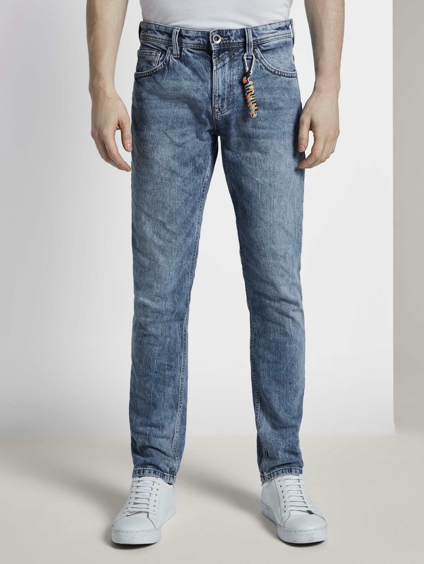 Tom Tailor Denim 7/8 jeans »Aedan Straight Jeans mit Schlüsselanhänger« voordelig en veilig online kopen