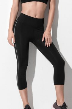 stedman sportbroek met brede ribband »sports tights« zwart
