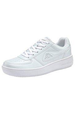 kappa sneakers »bash« wit