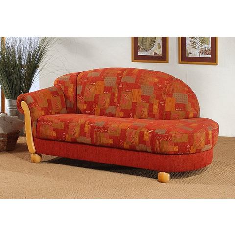 Chaise longue met armleuning