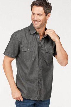 arizona jeansoverhemd grijs