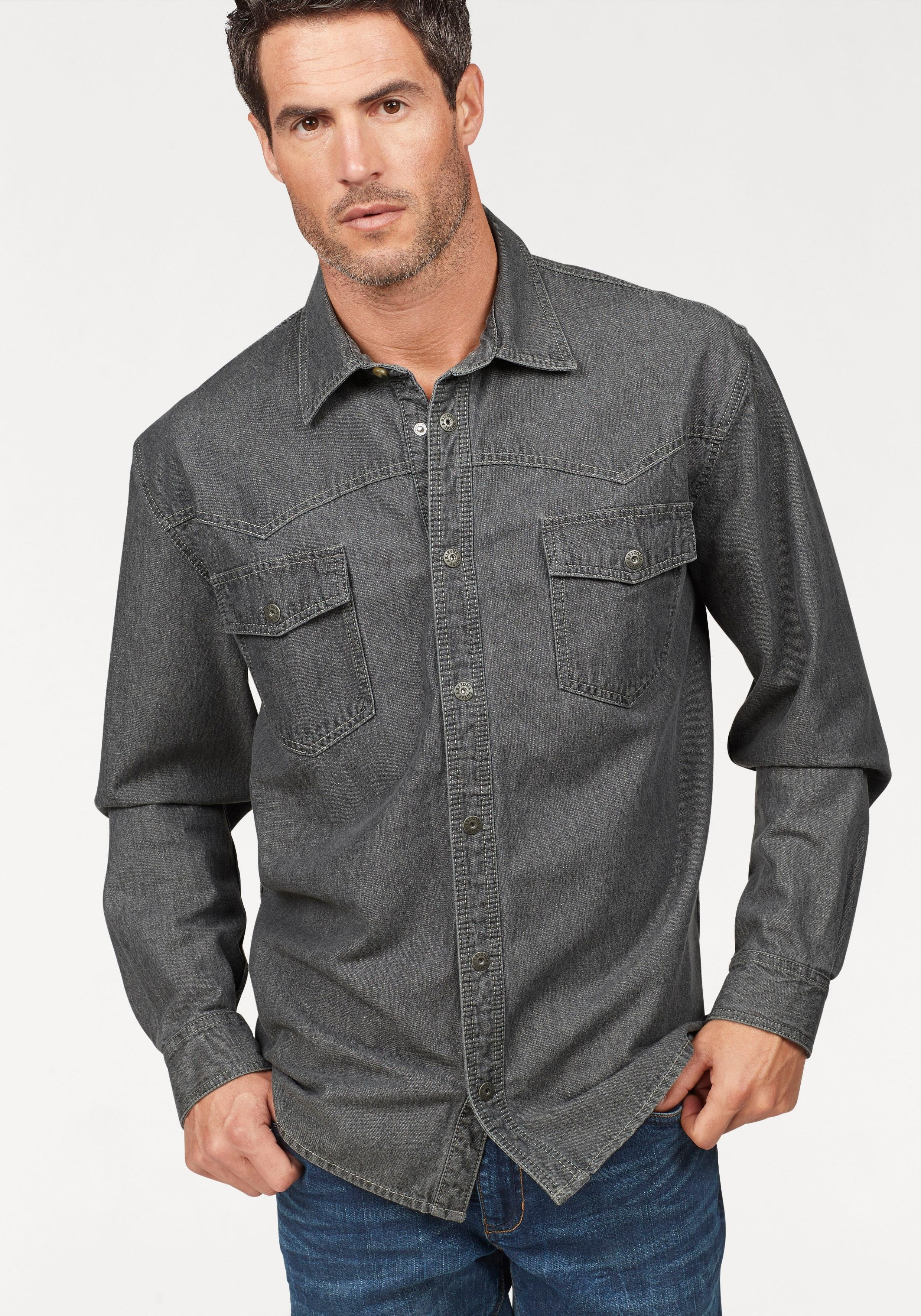 Arizona Jeansoverhemd Westernstijl - gratis ruilen op otto.nl