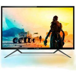 philips »436m6vbpab« led-monitor (43 inch, 3840 x 2160 pixels, 4k ultra hd, 4 ms reactietijd, 60 hz) zwart