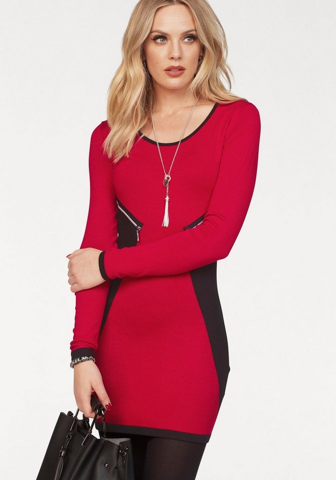 Melrose tricotjurk rood