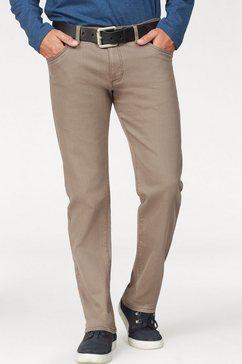 arizona stretch-broek in 5-pocketsstijl bruin