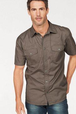 arizona overhemd met korte mouwen in westernstijl groen
