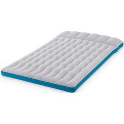 intex »camping mat« luchtbed grijs