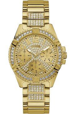 guess multifunctioneel horloge »lady frontier, w1156l2« goud