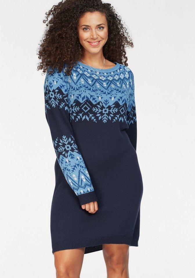 KangaROOS tricotjurk blauw