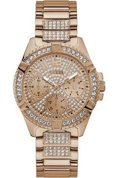 guess multifunctioneel horloge »lady frontier, w1156l3« goud