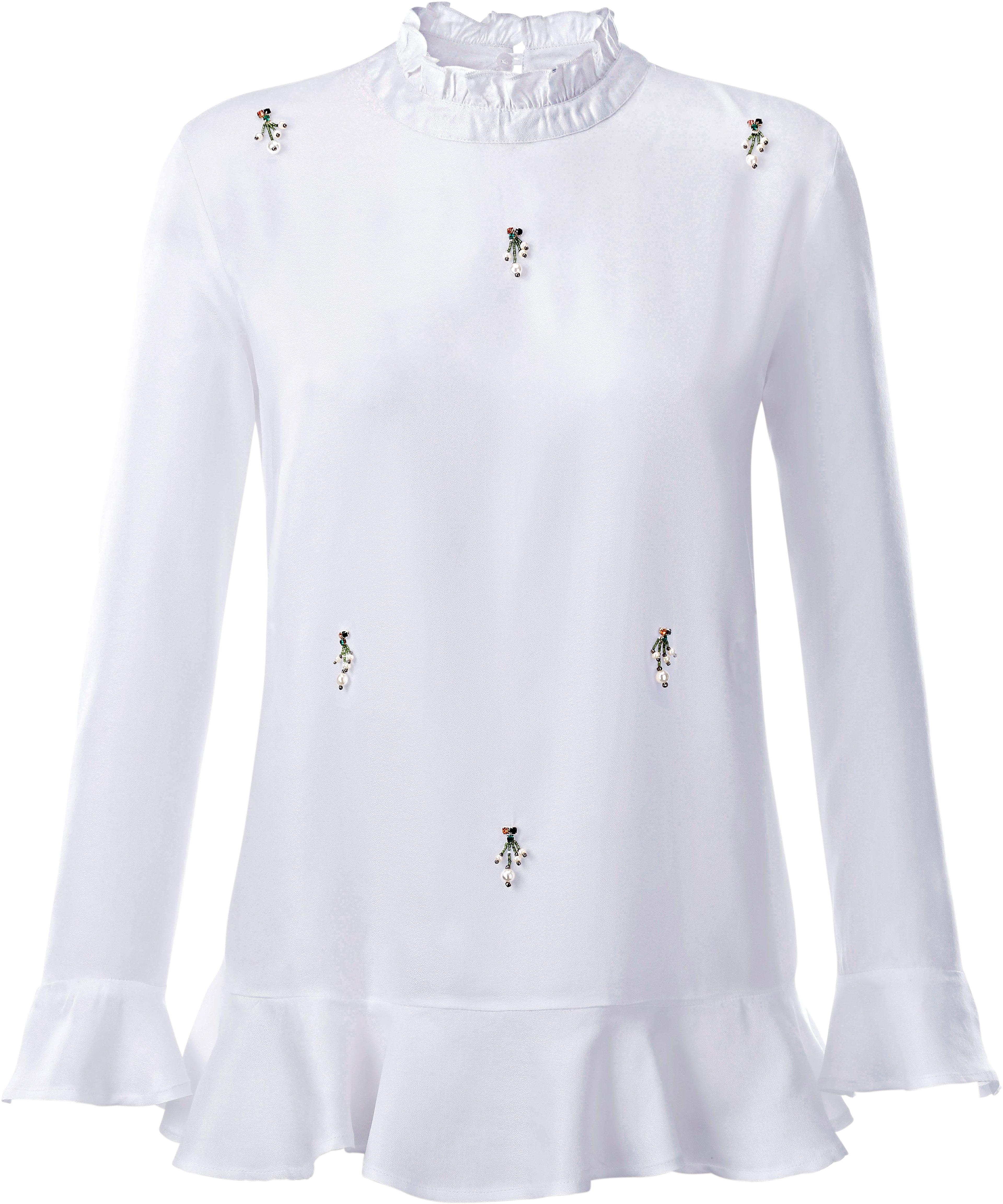 Création L blouse met sierkraaltjes en glinstersteentjes in de webshop van OTTO kopen