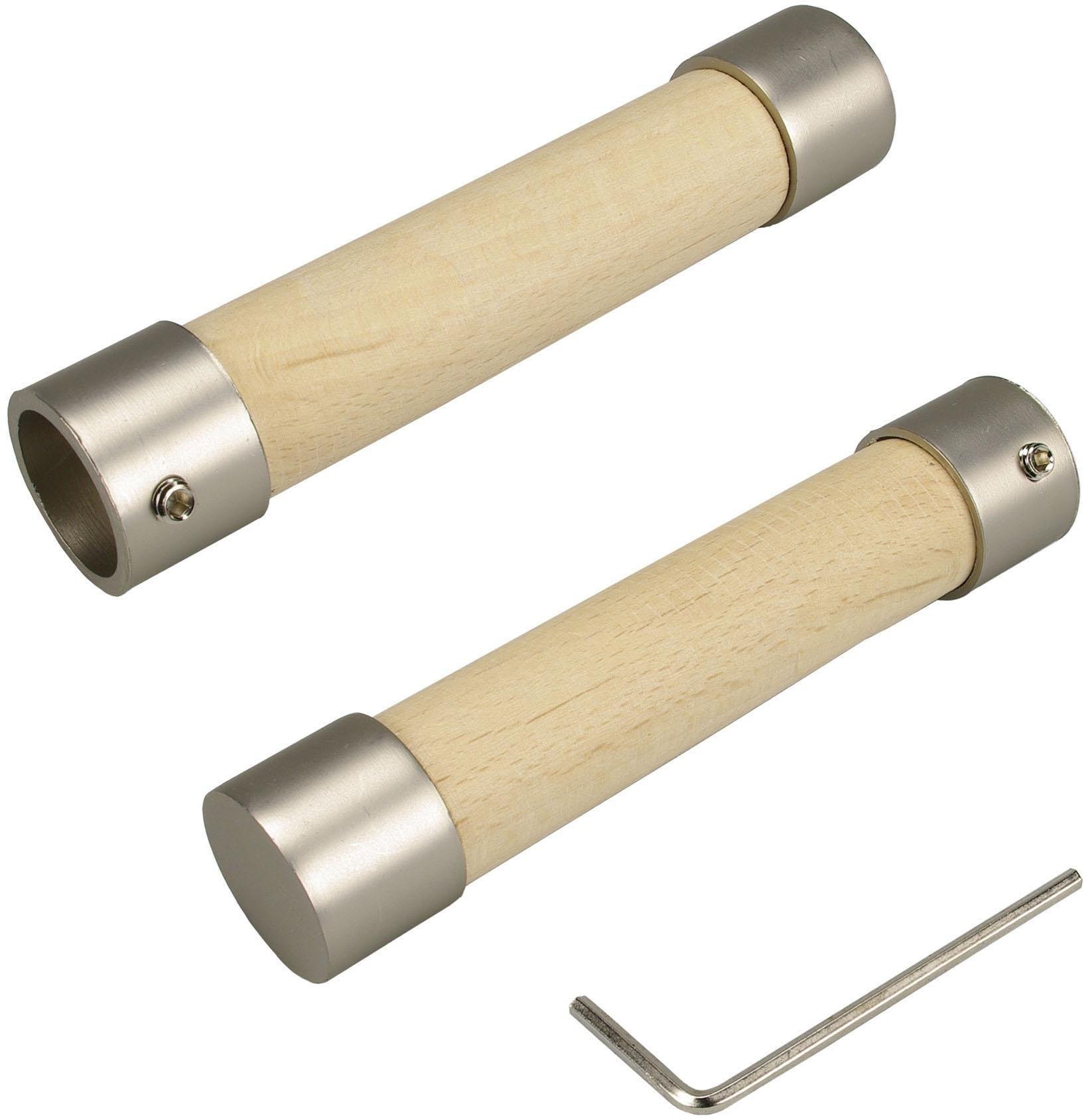 Liedeco Eindstuk voor gordijnroeden »Baton«, voor gordijnen (set) bij OTTO online kopen