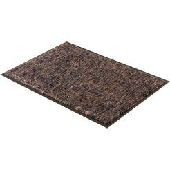 mat, »miami 003«, schoener wohnen-kollektion, rechthoekig, hoogte 7 mm, machinaal getuft grijs