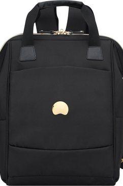 delsey rugzak met 13,3 inch-laptopvak, »montrouge, 1 vak« zwart