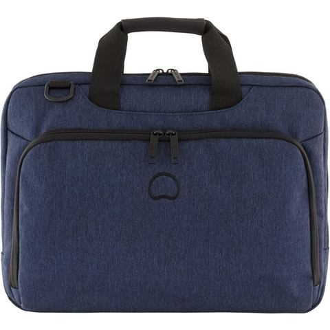 Delsey Esplanade Serviette 1-CPT Laptop Bag Blue Marine