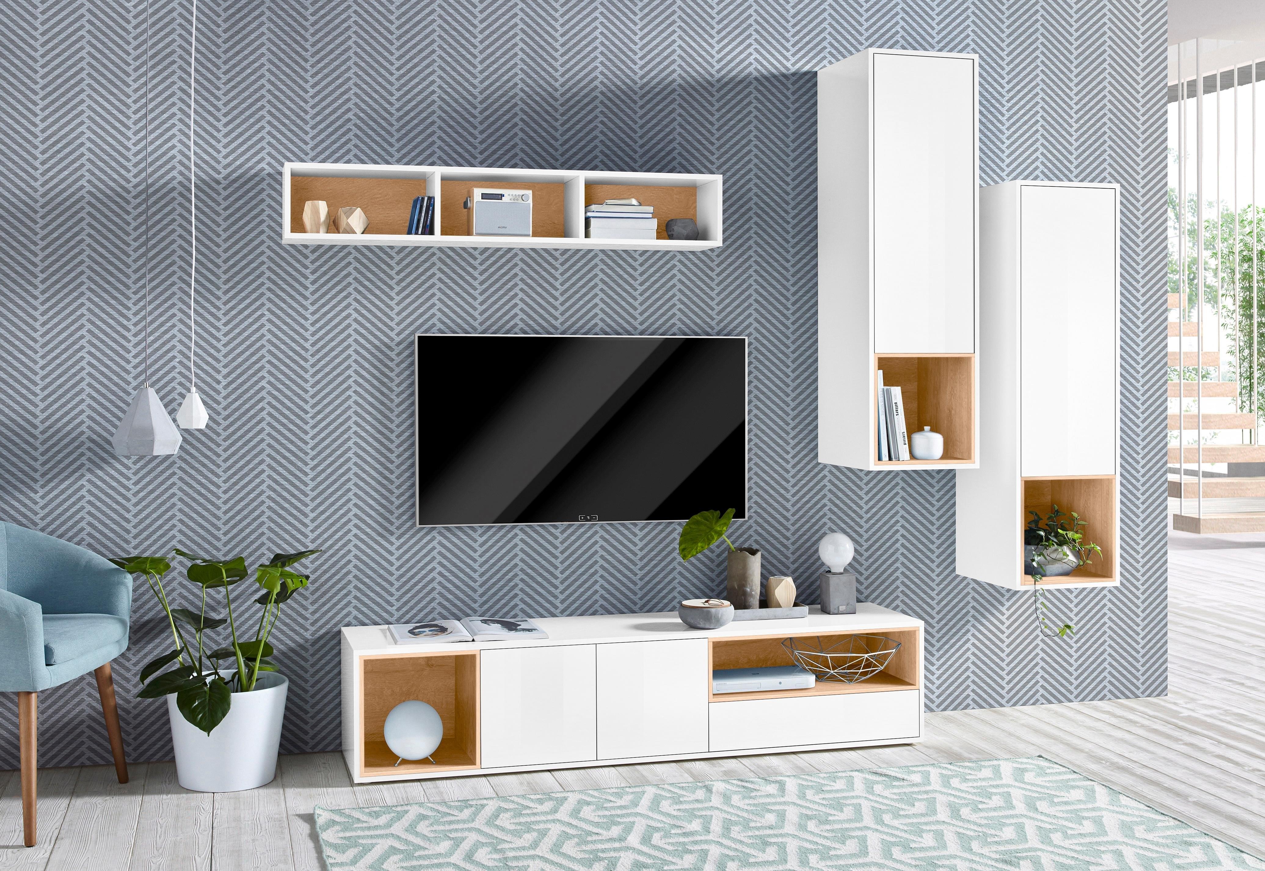 Tecnos wandmeubel Colore (set, 4 stuks) online kopen op otto.nl