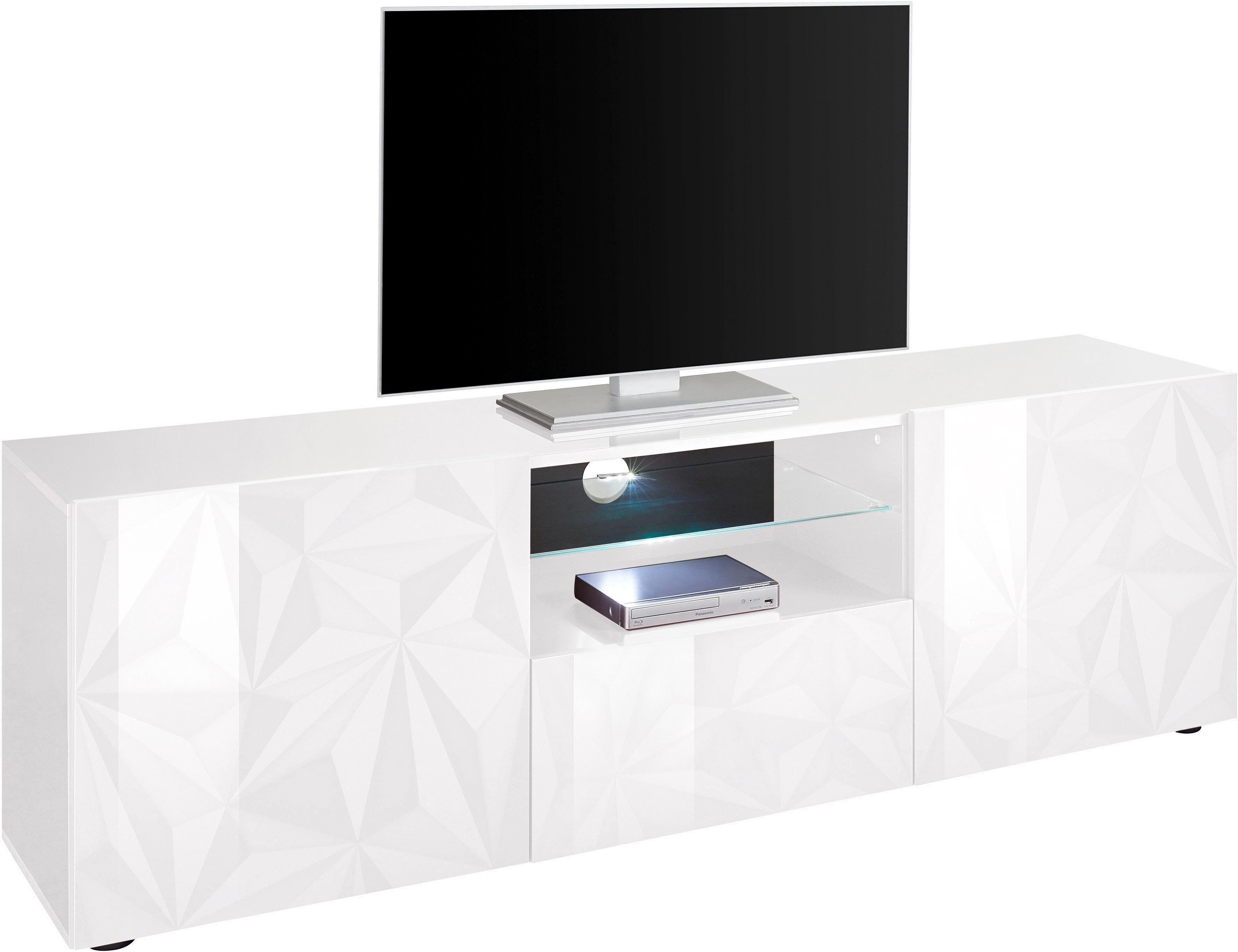 Lc tv-meubel »Prisma«, breedte 181 cm, 2-deurs voordelig en veilig online kopen