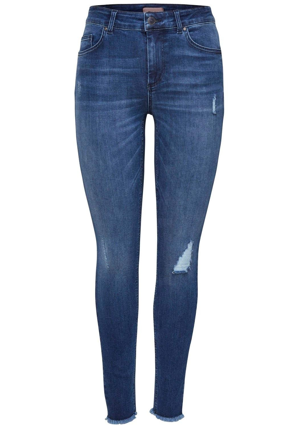 ONLY skinny fit jeans »BLUSH« - gratis ruilen op otto.nl