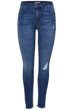 only skinny fit jeans »blush« blauw