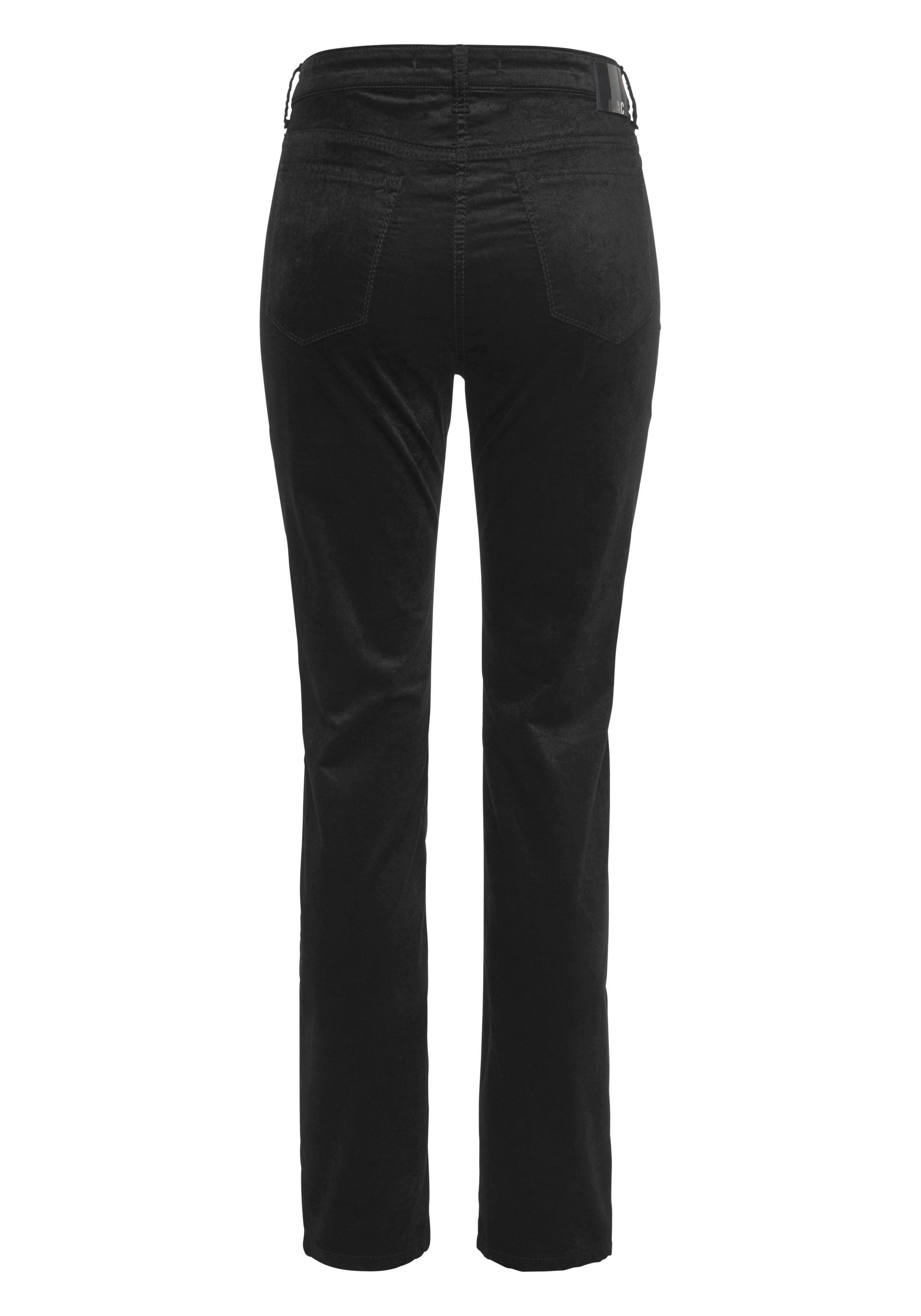 Mac slim fit jeans »Slim Doubloe Zip Velvet« goedkoop op otto.nl kopen