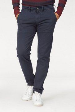 pepe jeans chino »sloane« blauw