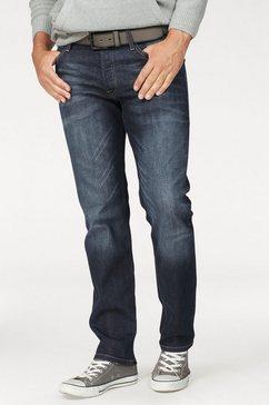 jack  jones regular fit jeans »clark« blauw