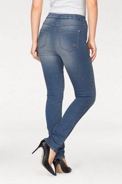 bodyright skinny jeans »shaping« blauw