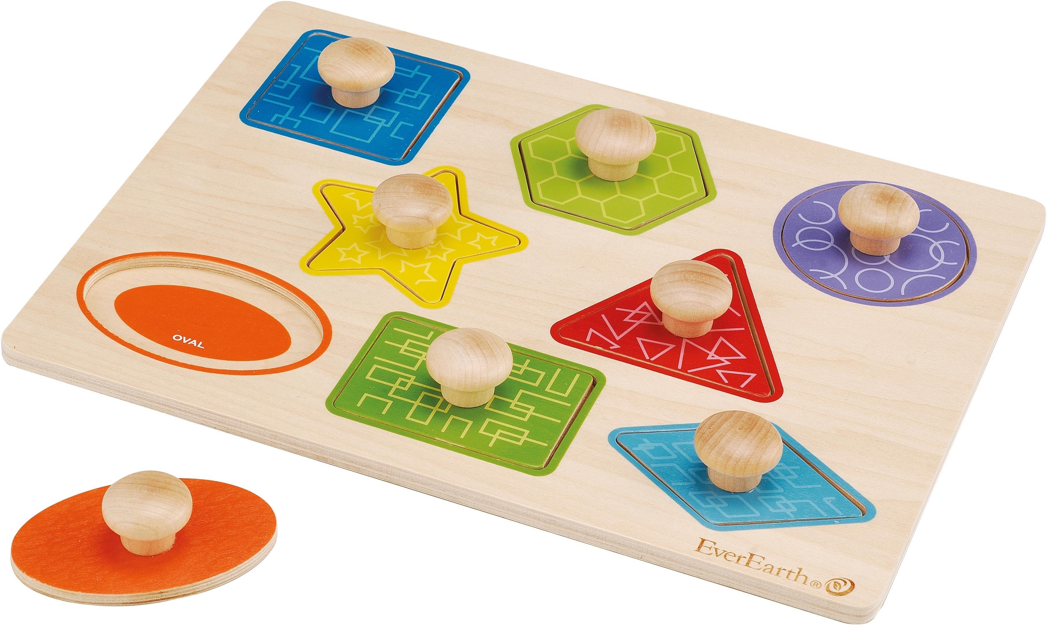 Everearth ® vormenspel, »Vormen- en kleurenpuzzel« goedkoop op otto.nl kopen
