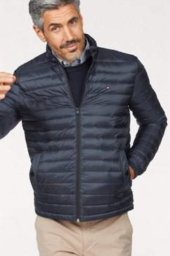 tommy hilfiger jas »core lw packable down bomber« blauw