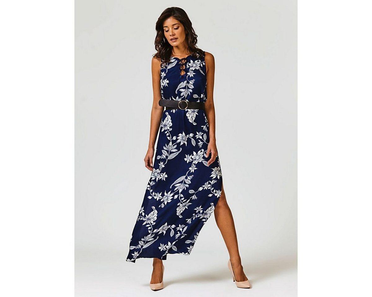 Guess maxi-jurk blauw