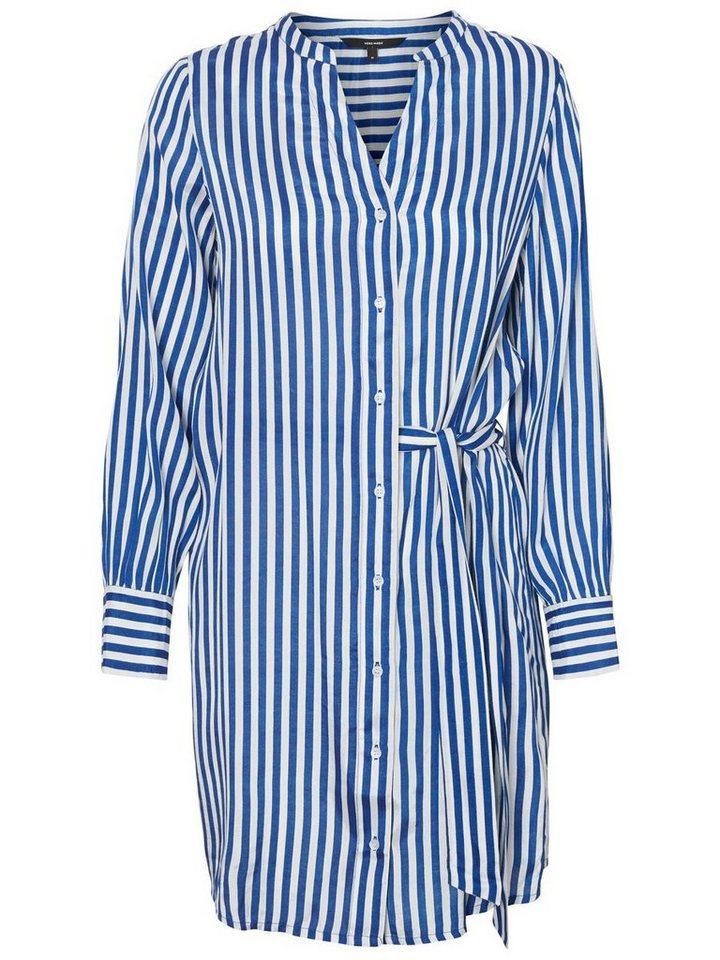 Vero Moda Blouse jurk blauw