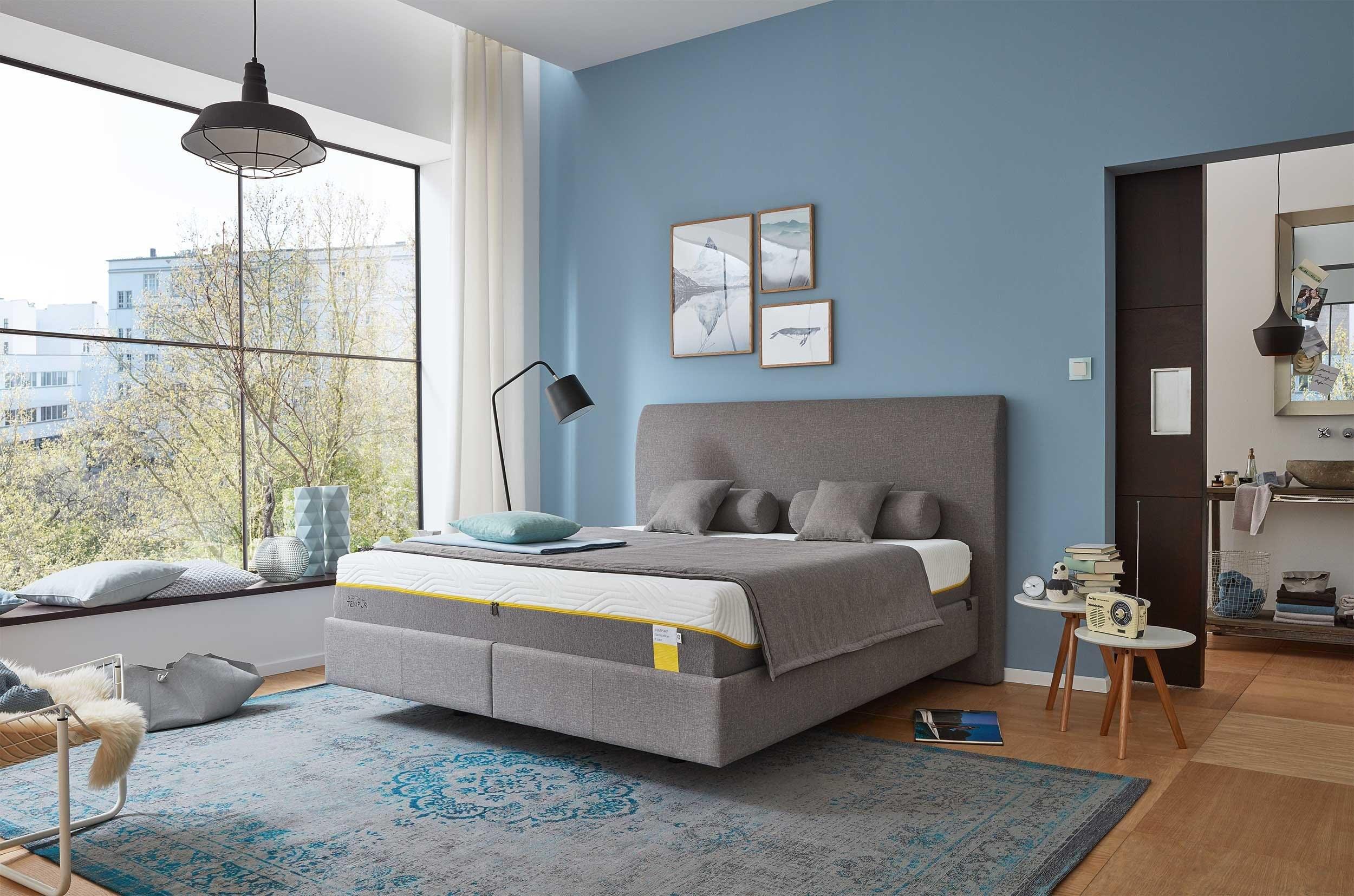 visco matras sensation luxe tempur 30 cm dik. Black Bedroom Furniture Sets. Home Design Ideas