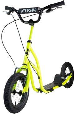 stiga step »air scooter« groen