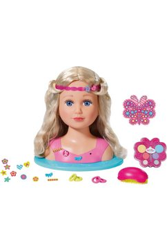 zapf creation styling- en make-uphoofd, »baby born sister styling head« multicolor