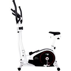 christopeit sport crosstrainer »christopeit cross- en hometrainer ct 4« (1-delig) wit