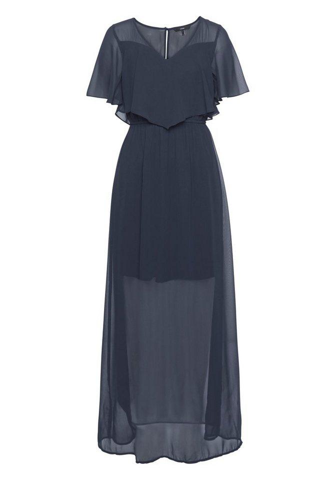 NU 21% KORTING: Vero Moda maxi-jurk DORA blauw