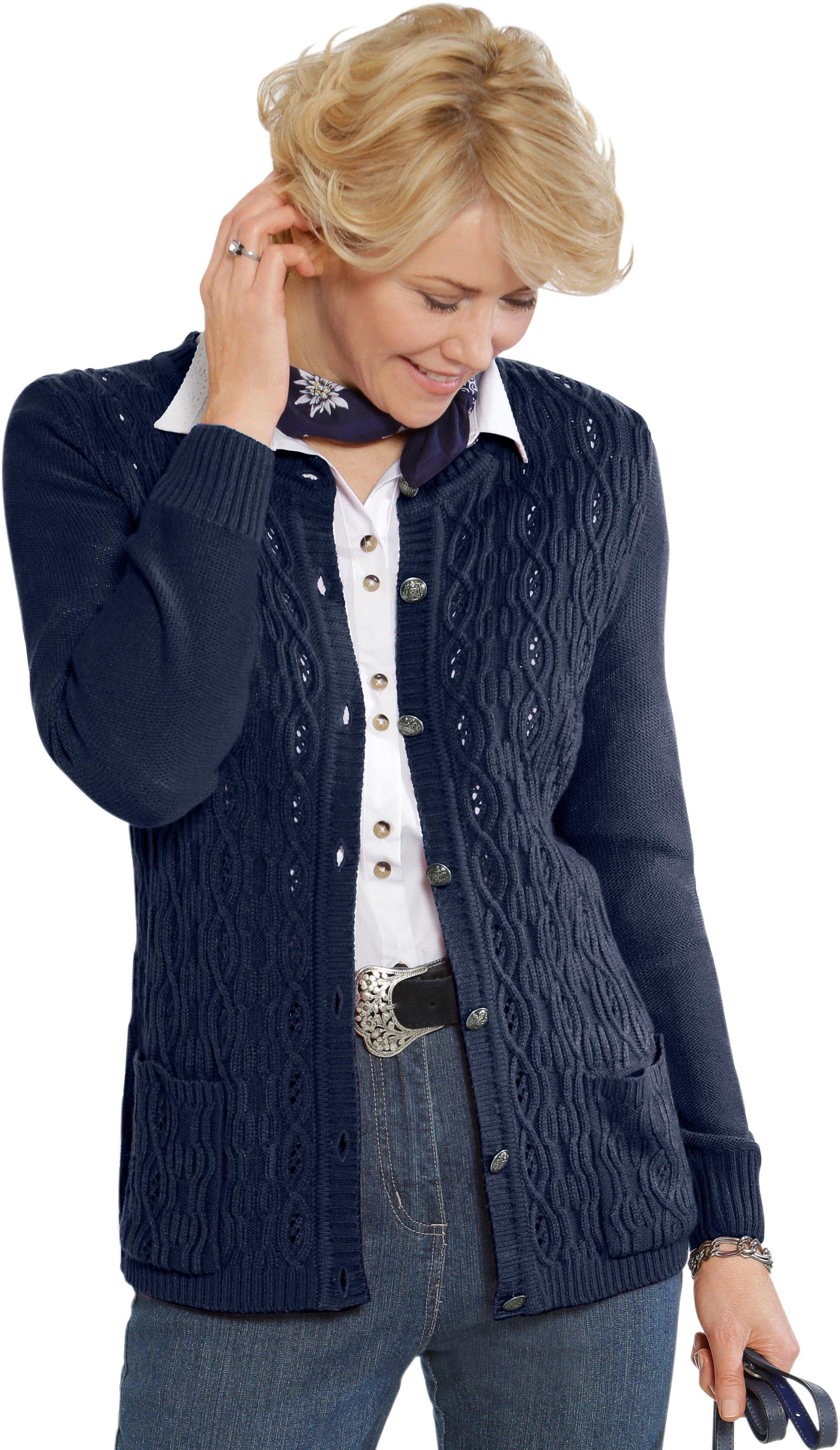Classic vest met decoratieve folkloreknopen - gratis ruilen op otto.nl