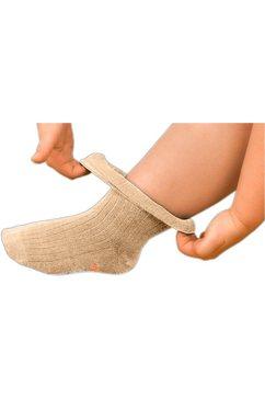 verbandsokken voor gevoelige voeten beige